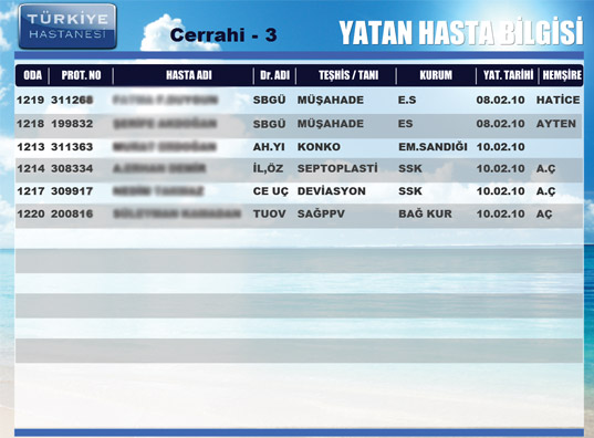 Türkiye Hastanesi Digiplat 7