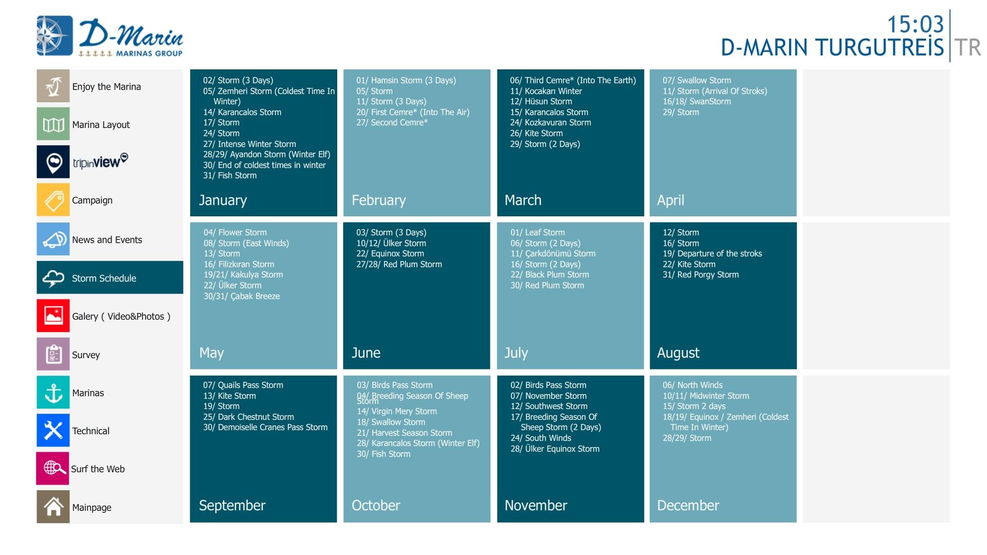 D-Marine Dokunmatik Uygulama 5