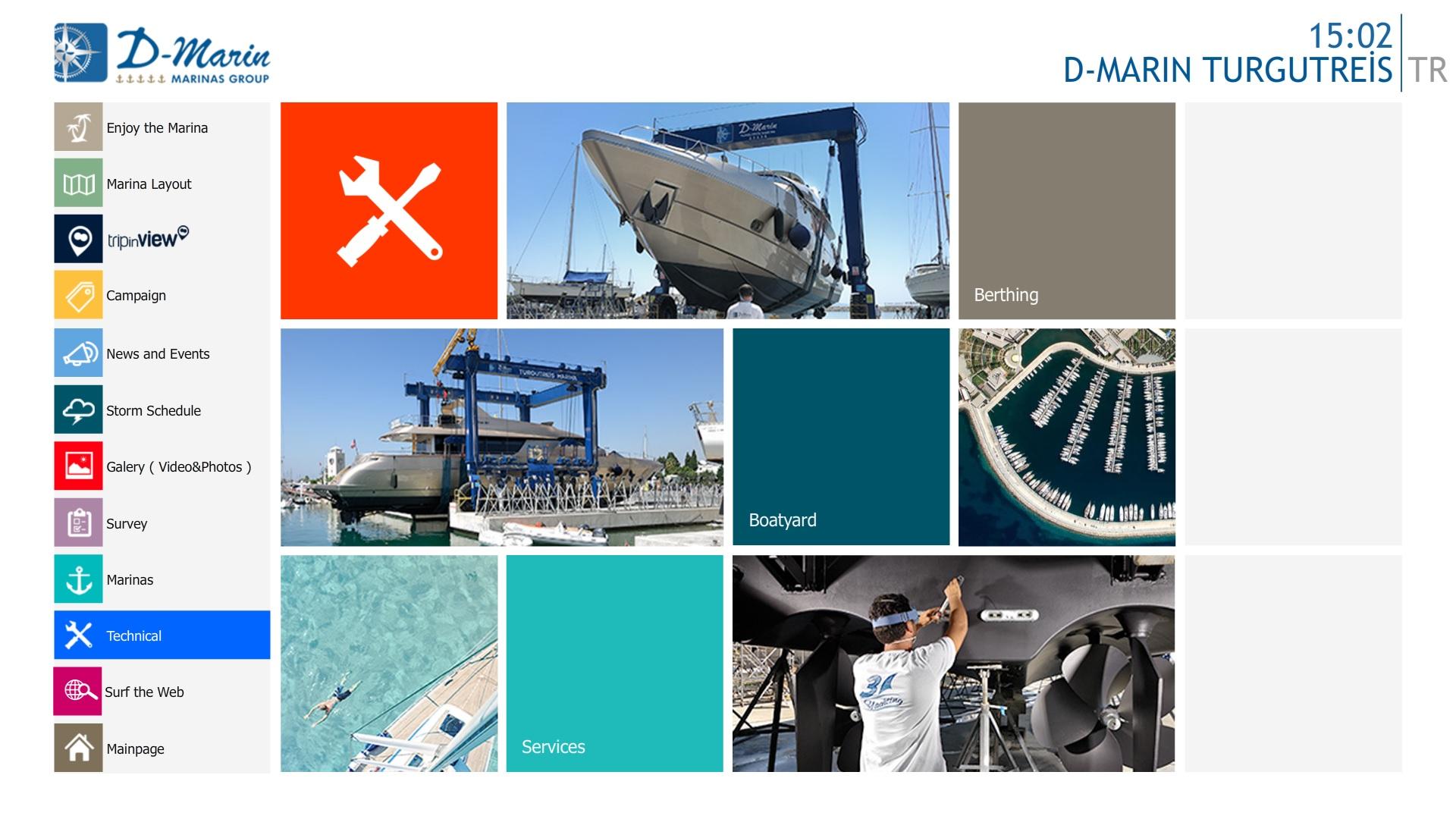 D-Marine Dokunmatik Uygulama 4