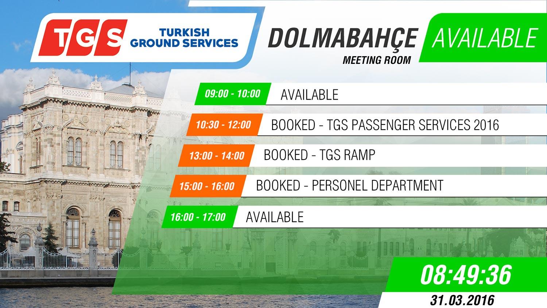 """TGS(Turkish Ground Services) toplantı odaları """"Digiplat - Toplantı Yönetim"""" sistemi ile zenginleşti"""